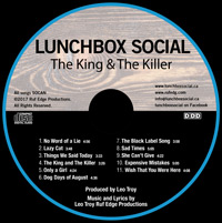 The King &The Killer CD by Lunchbox Social